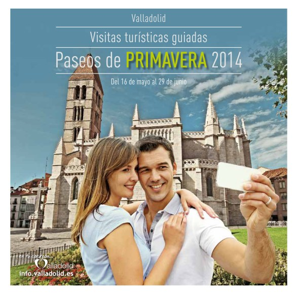 Advert for Paseos de Primavera 2014, Valladolid. / Photo: info.valladolid.es