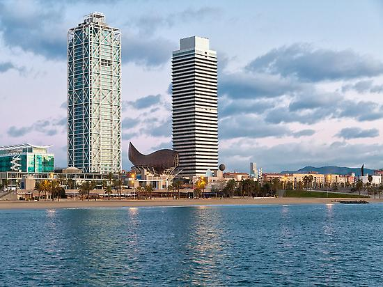 Barcelona's coast. / Photo: spain.info