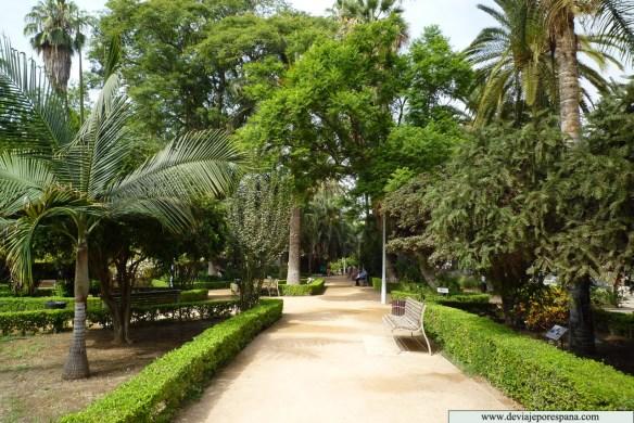 Parque de la Alameda, Parque de Málaga. /Picture: www.deviajeporespaña.com