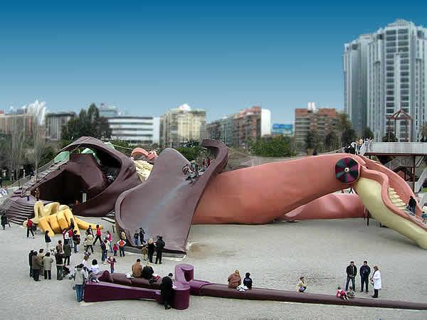 Gulliver Park in Valencia. / Photo: web-valencia.com