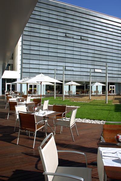 Japanese Garden at the hotel Vincci Marítimo 4* Barcelona.