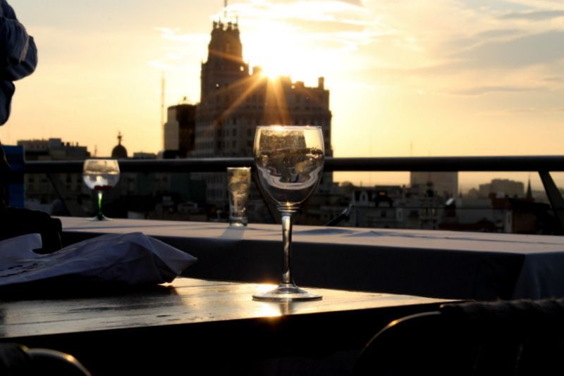 Views from the rooftop terrace at the Círculo. / Photo: azoteadelcirculo.com