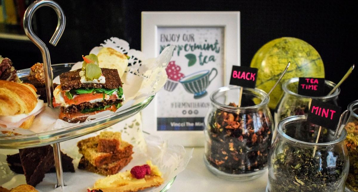 """Peppermint Tea Time"": British afternoon tea, at Vincci The Mint 4*"