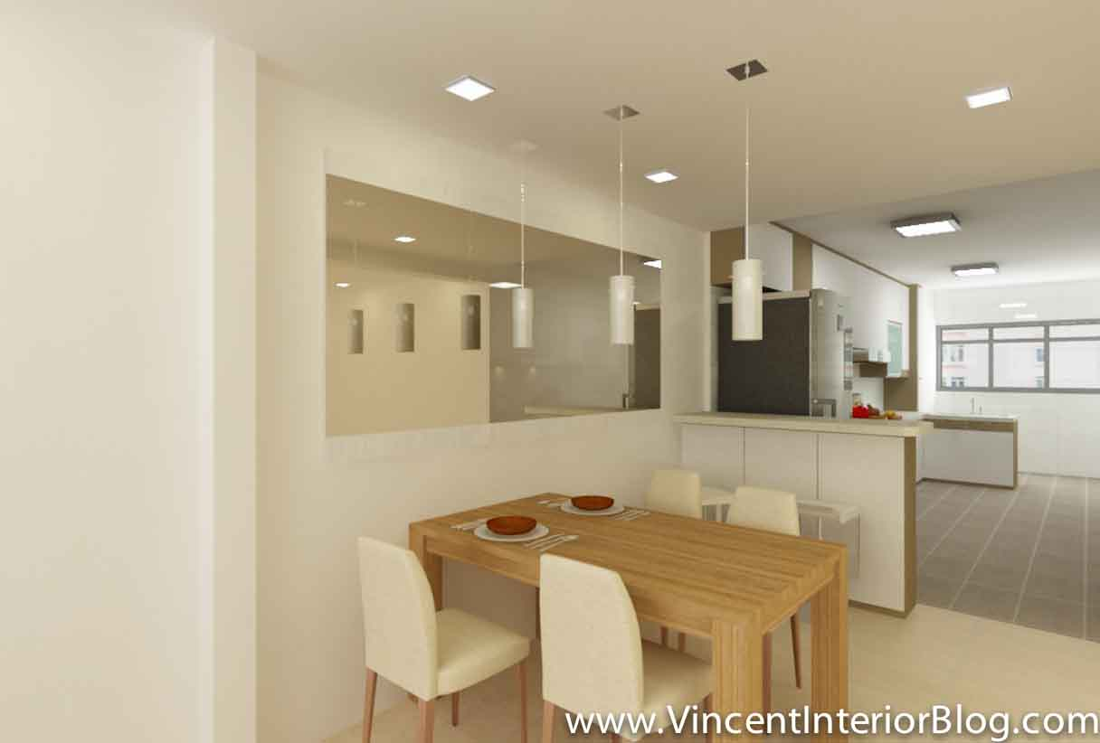 ... BEhome Design Concept Perspective 3 Interior Design 4 Room Hdb Flat