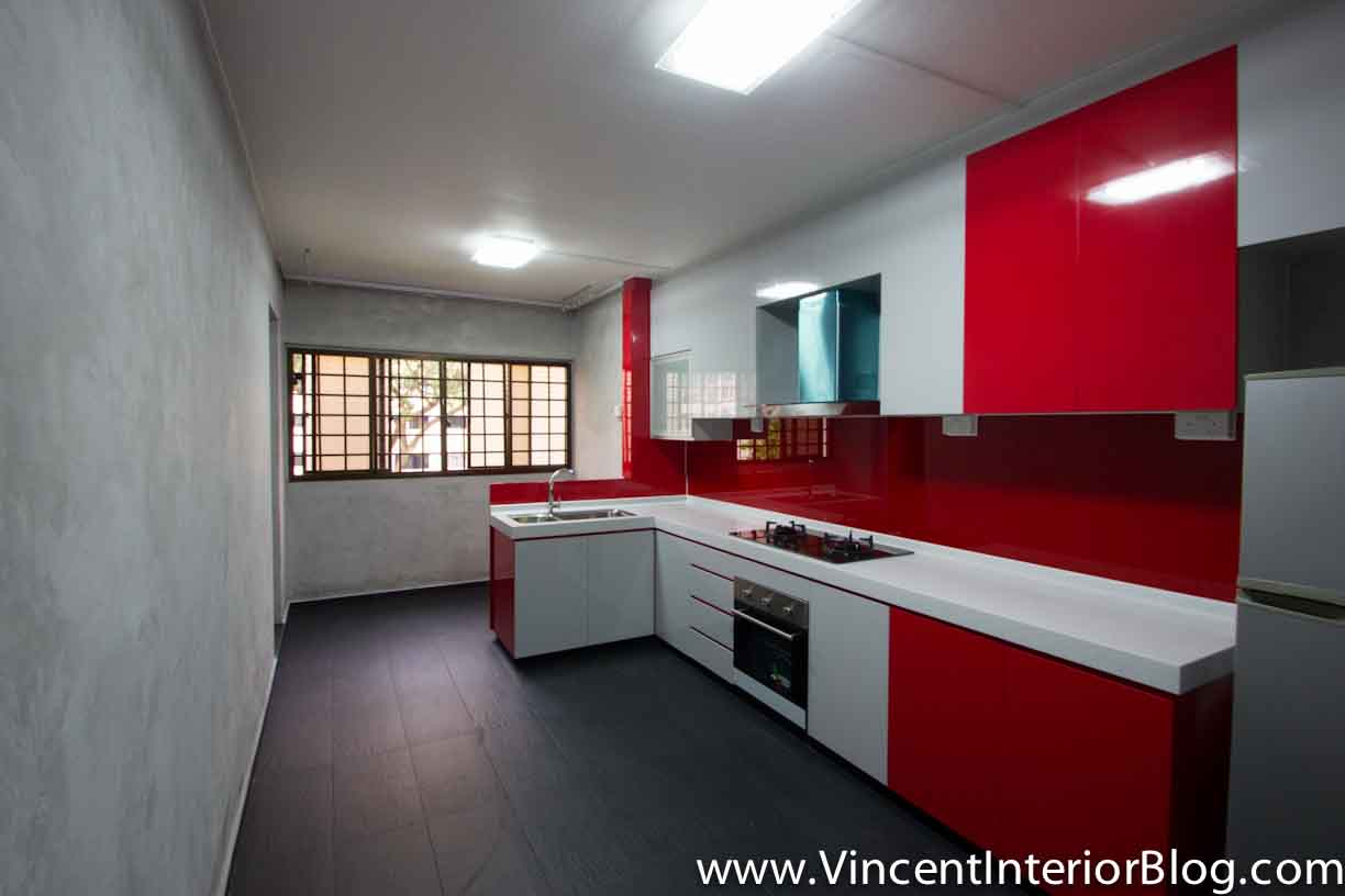Resale 4 room hdb renovation kitchen toilet by behome design concept part 2 project Kitchen design in hdb