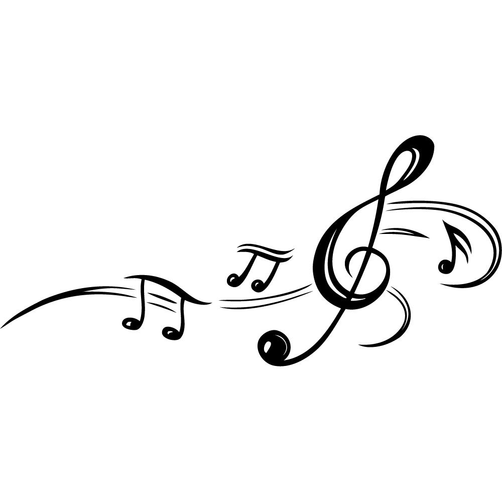 Akatsuki Wallpaper Hd Vinilos Folies Vinilo Decorativo Notas Musicales