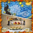 "Van Gogh "" Starry Nights""- Afternoon Tea Time!!!"