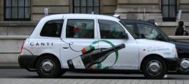 Publicidad en los taxis