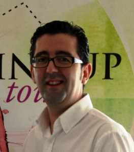 Joaquín Parra, promotor del Wine UP Tour