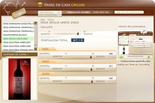 CATA VEGA SICILIA UNICO 2002