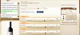 ALICERES ROBLE 2010 - 90.31 PUNTOS EN WWW.ECATAS.COM POR JOAQUIN PARRA WINE UP