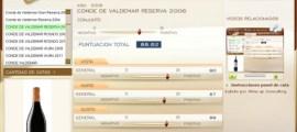 CONDE DE VALDEMAR RESERVA 2006 - 88.62 PUNTOS EN WWW.ECATAS.COM POR JOAQUIN PARRA WINE UP
