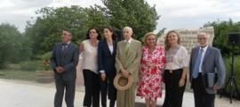 Vicente García, Ana Suria (Pago de Tharsys), Marta Valsangiacomo, Dr. Grisolía, Dra. Celia Sánchez, Dra. Pilar Mateo y Dr. José Mir