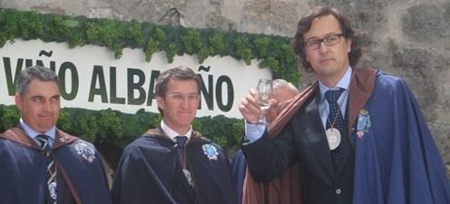José Masaveu Herrero, investido Cabaleiro do Albariño
