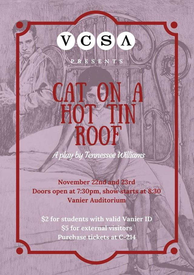 Student-Run Production of Cat on a Hot Tin Roof