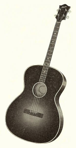 Vintage Guitars, SWEDEN - Levin Model 55 TG information