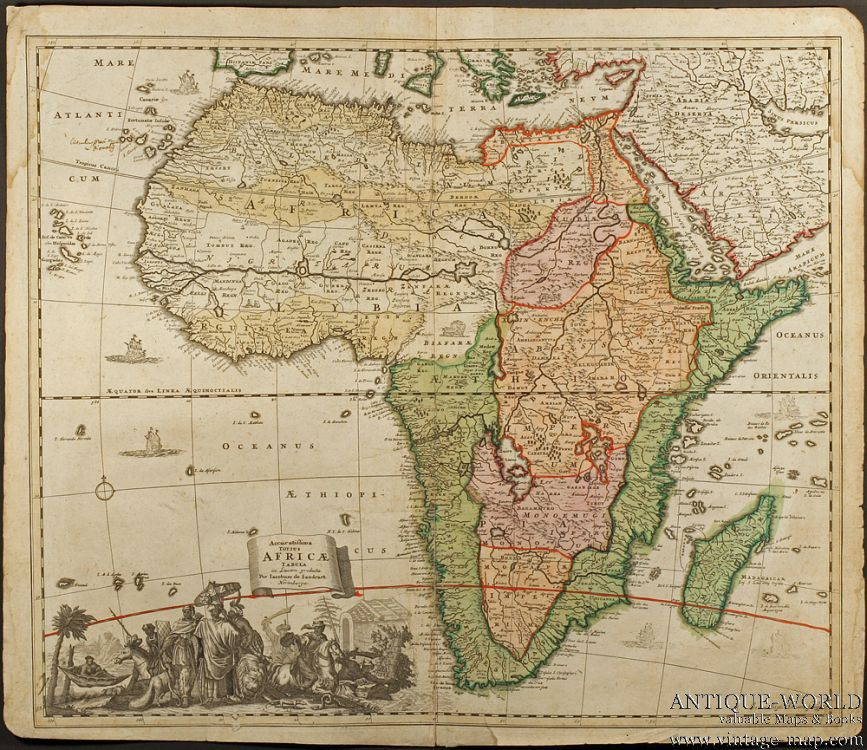 The Oronteus Finaeus Map The Oronteus Finaeus map, published in 1531 - copy world map africa continent