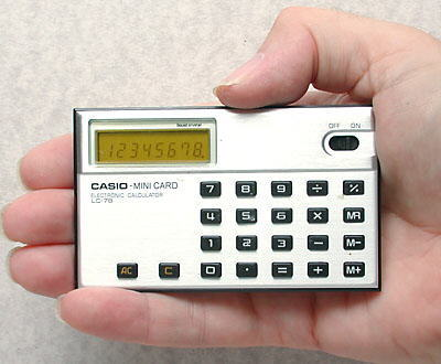 Casio Mini Card LC-78