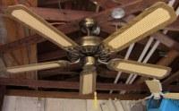 """J.C. Penney Moss Heirloom Deluxe Ceiling Fan Model 52""""B"""