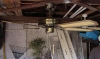 J.C. Penney Moss Heirloom Deluxe Ceiling Fan Model 757-4002