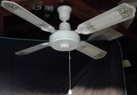 Lasko Plastic Black Ceiling Fan From The Early 1980s