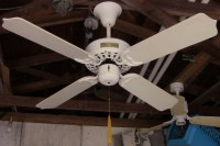 TAT Deluxe Ceiling Fan Model BDF42CB-WH From the Early-Mid ...