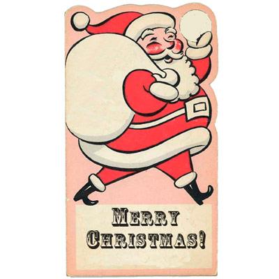 10 Sets of Printable Retro  Vintage Christmas and Holiday Gift Tags