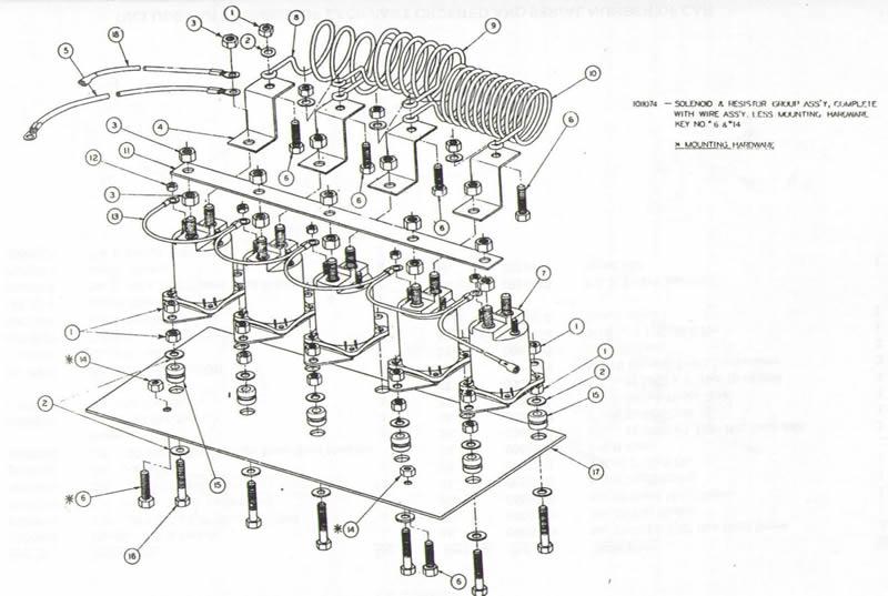 1987 Club Car Electric Diagram Index listing of wiring diagrams