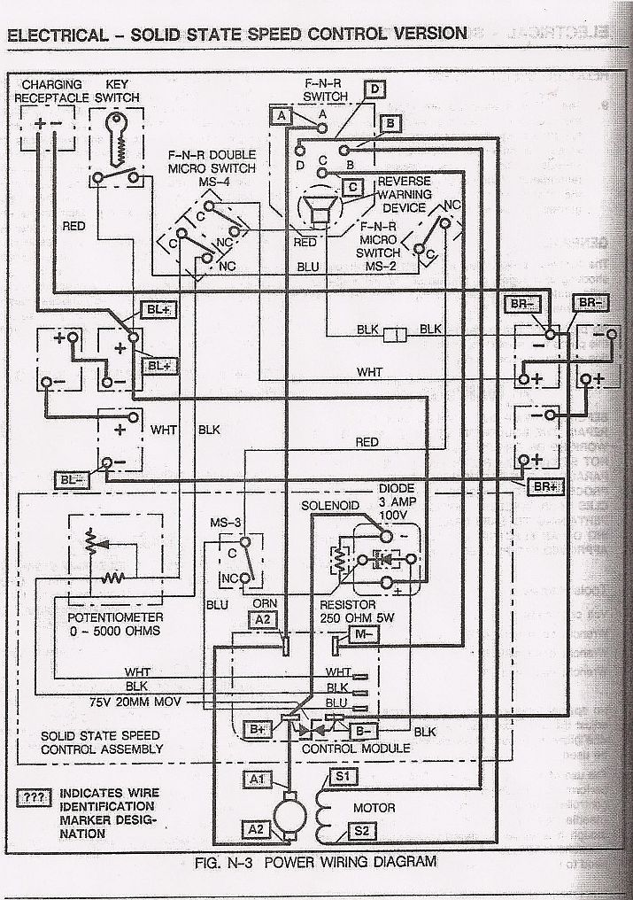 2004 ez go wiring diagram