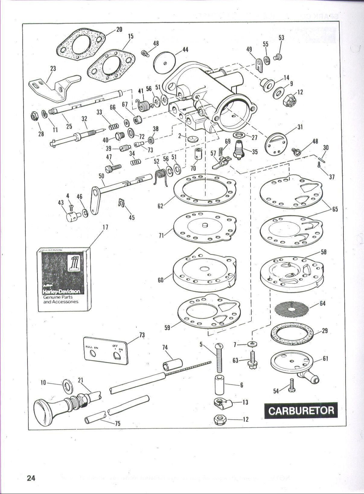 harley golf cart engine diagram
