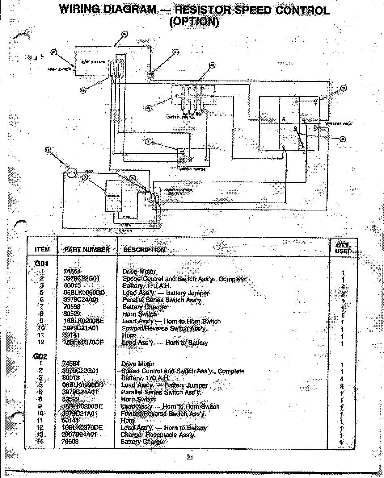 wiring diagram for a cushman scooter