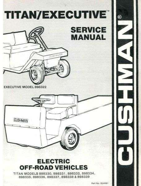 Cushman Titan Wiring Schematic Wiring Diagram 2019