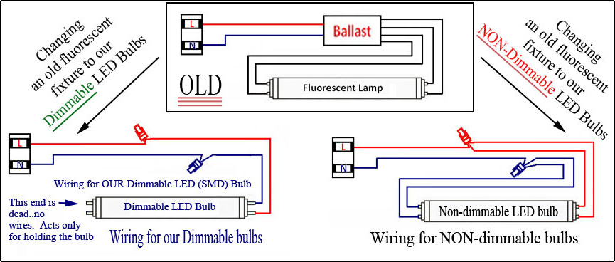 Wiring Diagram Led Tube Electronic Schematics collections