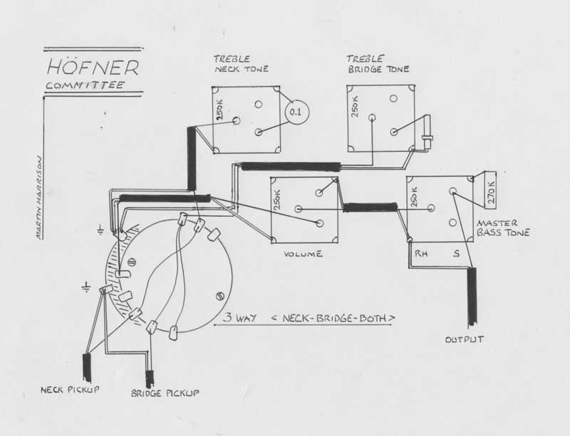 hofner verithin wiring diagrams