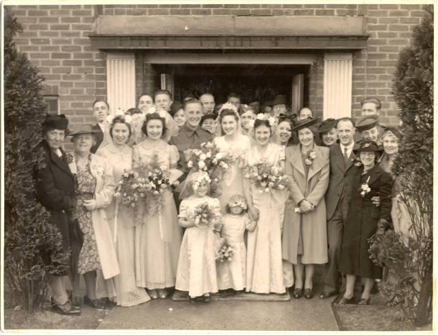 1940s Canadian War Bride
