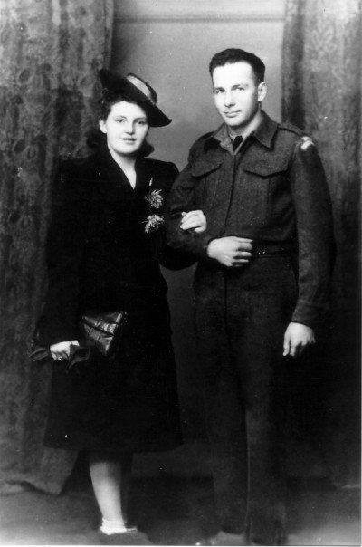 Annie Barnes Anderson Coyle and George Alfred Brown.