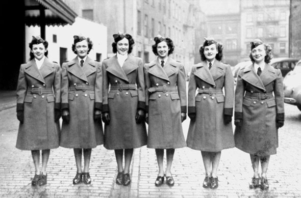 1940s TTC women workers