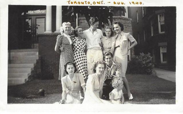 1940s people in Toronto