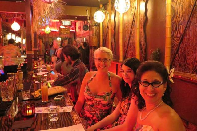 Opening of Shameful Tiki Room Toronto