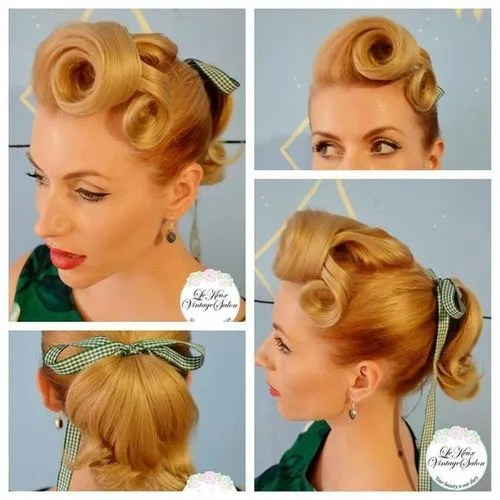1940s 1950s vintage hairstyles blog post of ideas the vintage inn. Black Bedroom Furniture Sets. Home Design Ideas