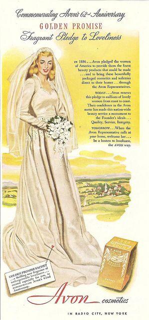 1948 avon cosmetics magazine ad
