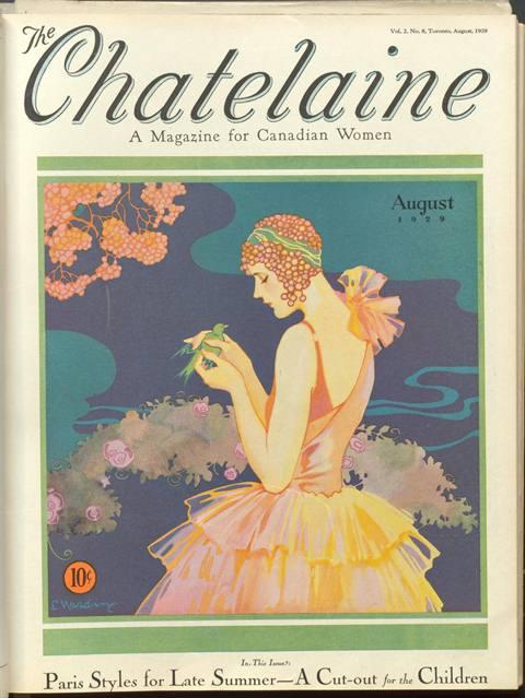Chatelaine magazine 1929