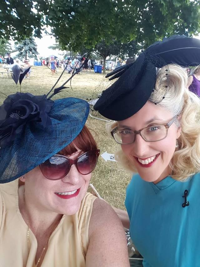 Hats & Horseshoes 2016 1940s Vintage Hat