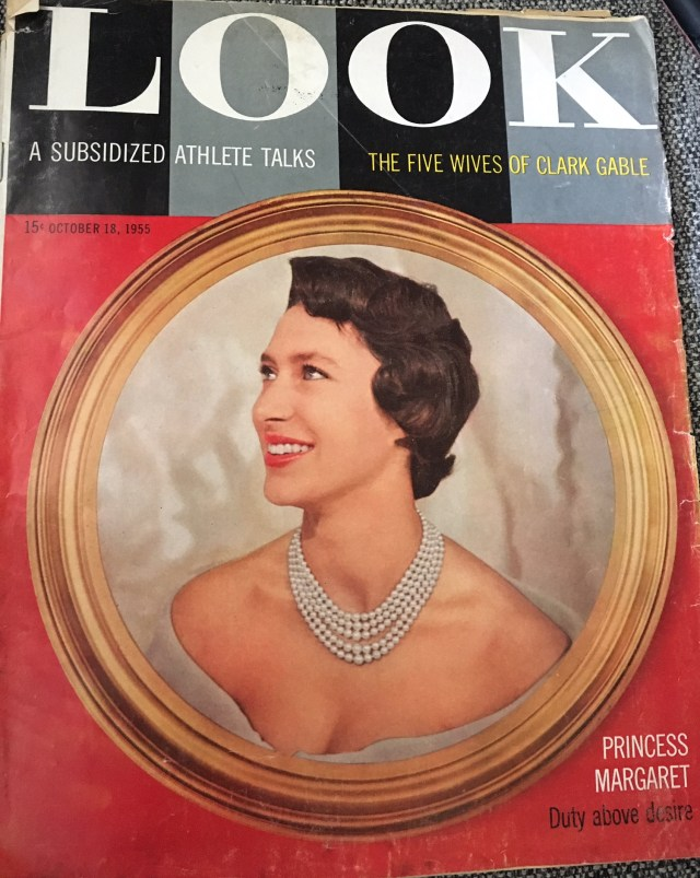Vintage magazine cover Look 1955