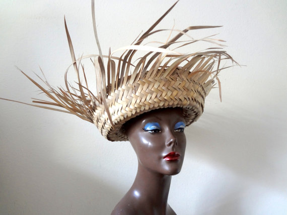 1940s-50s Resort Hat
