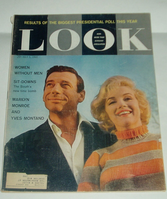 Vintage Look Magazine Marilyn Monroe Cover