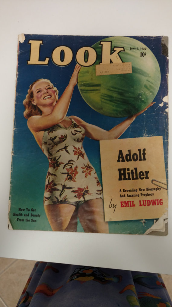 look magazine vintage cover 1939