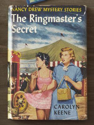 Nancy Drew The Ringmasters Secret 1950s