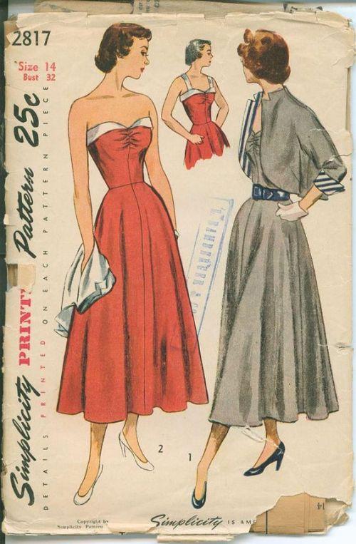 1947-dress-with-bolero-jacket