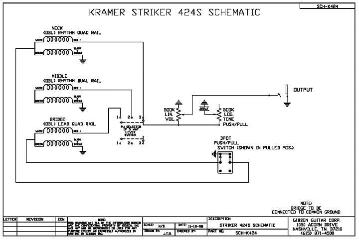 Kramer Striker Custom FR-424CM